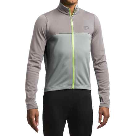 Pearl Izumi SELECT Thermal Fleece Jersey - Long Sleeve (For Men) in Smoked Pearl/Monument - Closeouts