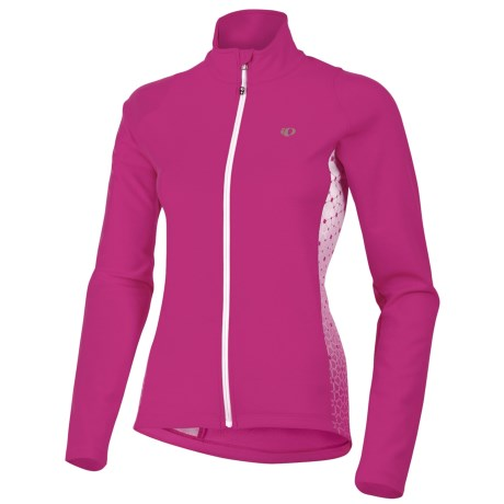 Pearl Izumi Select Thermal Fleece Jersey - Long Sleeve (For Women) in Berry