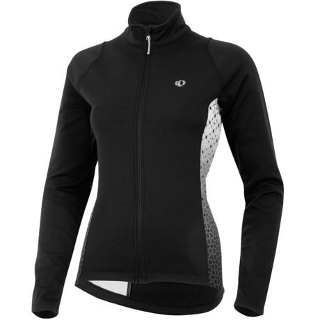 Pearl Izumi Select Thermal Fleece Jersey - Long Sleeve (For Women) in Black/Black