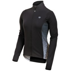 Pearl Izumi Select Thermal Fleece Jersey - Long Sleeve (For Women) in Black/Black