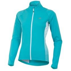 Pearl Izumi Select Thermal Fleece Jersey - Long Sleeve (For Women) in Scuba Blue