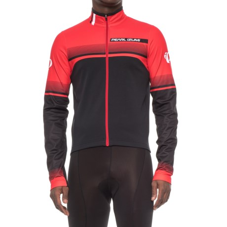 Pearl Izumi SELECT Thermal Jersey - Long Sleeve (For Men) in Splitz True Red
