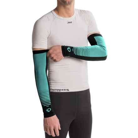 Pearl Izumi SELECT Thermal Lite Arm Warmers - Pair in Horizon Aqua - Closeouts