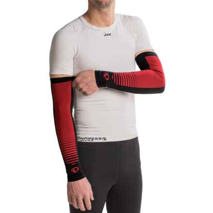 Pearl Izumi SELECT Thermal Lite Arm Warmers - Pair in Red Point - Closeouts