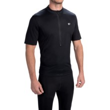 Pearl Izumi SELECT Tour Cycling Jersey - Zip Neck, Short Sleeve (For Men) in Black - Closeouts