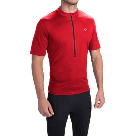 Pearl Izumi SELECT Tour Cycling Jersey - Zip Neck, Short Sleeve (For Men) in True Red - Closeouts