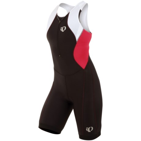 Pearl Izumi SELECT Tri Suit (For Women) in Black/Lime