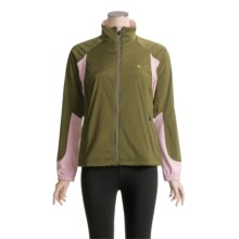 Pearl Izumi Sommet Running Jacket (For Women) in Dark Olive/Coral - Closeouts