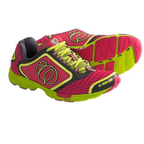 Pearl Izumi Streak II Running Shoes (For Women) in Paradise Pink/Shadow Grey