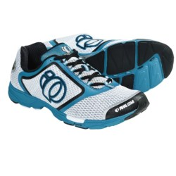Pearl Izumi Streak II Running Shoes - Minimalist (For Men) in White/Electric Blue