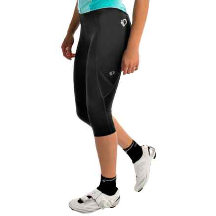 Pearl Izumi Sugar 3/4 Cycling Tights (For Women) in Black Solid - Closeouts