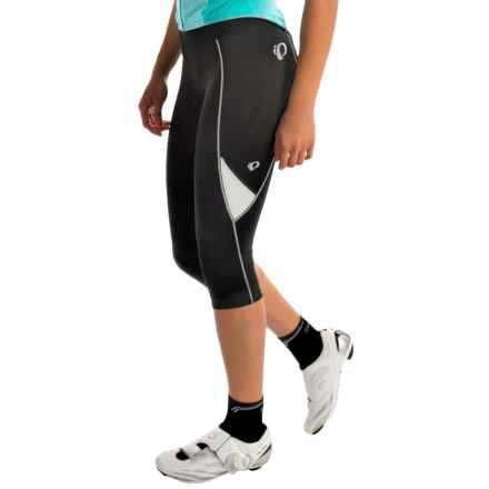 Pearl Izumi Sugar 3/4 Cycling Tights (For Women) in Black/White - Closeouts