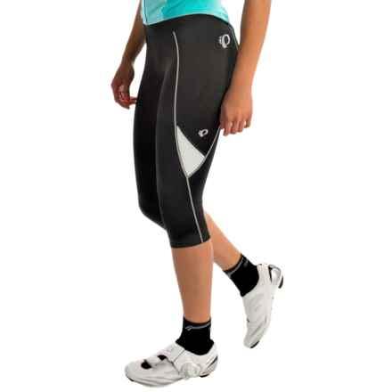 Pearl Izumi Sugar 3/4 Cycling Tights (For Women) in Black/White - Closeouts