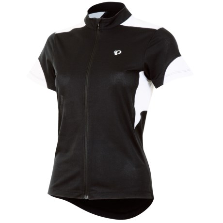 Pearl Izumi Sugar Cycling Jersey UPF 24, Full Zip, Short Sleeve (For Women)