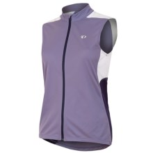 Pearl Izumi Sugar Cycling Jersey - UPF 24, Full Zip, Sleeveless (For Women) in Purple Haze - Closeouts