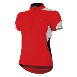 Pearl Izumi Sugar Jersey - UPF 50+, Zip Neck, Short Sleeve (For Women) in Scuba Blue