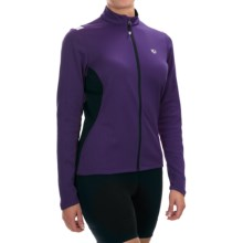 Pearl Izumi Sugar Thermal Cycling Jersey - Fleece, Long Sleeve (For Women) in Blackberry - Closeouts