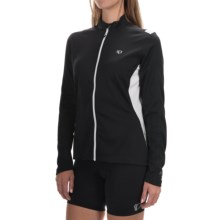 Pearl Izumi Sugar Thermal Cycling Jersey - Fleece, Long Sleeve (For Women) in Black - Closeouts