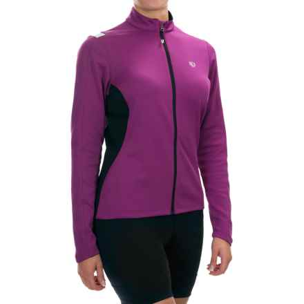 Pearl Izumi Sugar Thermal Cycling Jersey - Fleece, Long Sleeve (For Women) in Orchid - Closeouts