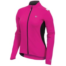 Pearl Izumi Sugar Thermal Cycling Jersey - Fleece, Long Sleeve (For Women) in Pink Punch - Closeouts