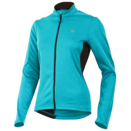 Pearl Izumi Sugar Thermal Cycling Jersey - Fleece, Long Sleeve (For Women) in Scuba Blue - Closeouts