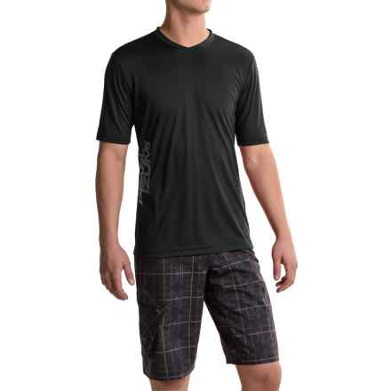 Pearl Izumi Summit Mountain Bike Jersey - Short Sleeve (For Men) in Black - Closeouts