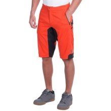 Pearl Izumi Summit Mountain Bike Shorts (For Men) in Mandarin Red - Closeouts