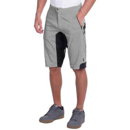 Pearl Izumi Summit Mountain Bike Shorts (For Men) in Monument Grey - Closeouts