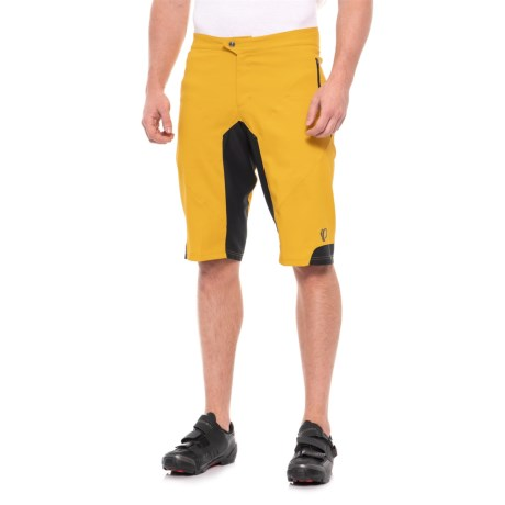 b27699752f Pearl Izumi Summit Mountain Bike Shorts (For Men) in Yellow Curry/Black