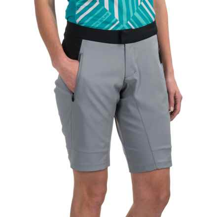 Pearl Izumi Summit Mountain Bike Shorts (For Women) in Monument Grey - Closeouts