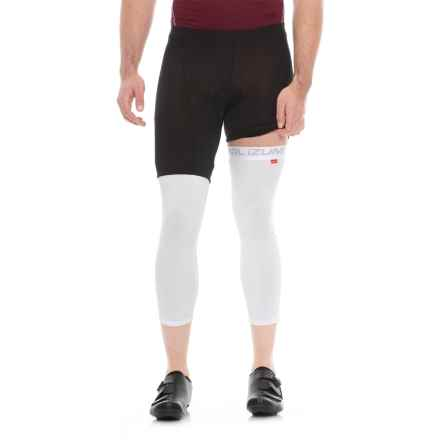Pearl Izumi Sun Knees Cycling Leggings (For Men and Women) in White/White - Closeouts