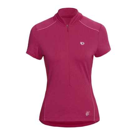 Pearl Izumi Superstar Cycling Jersey - Short Sleeve (For Women) in Fuschia - Closeouts