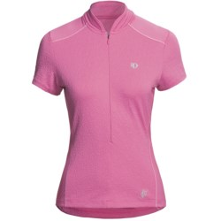 Pearl Izumi Superstar Cycling Jersey - Short Sleeve (For Women) in Rosebloom