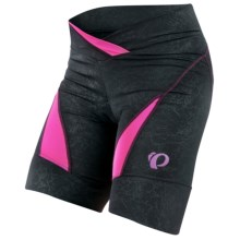 Pearl Izumi Symphony BIke Shorts (For Women) in Black/Berry - Closeouts