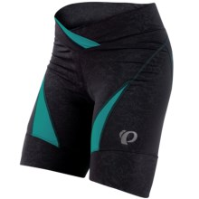 Pearl Izumi Symphony BIke Shorts (For Women) in Black/Deep Lake - Closeouts