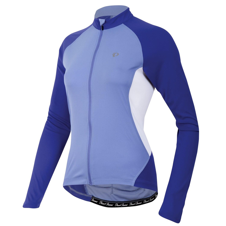 Pearl izumi symphony cycling jersey upf 50 full zip for Pearl izumi cycling shirt