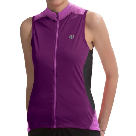 Pearl Izumi Symphony Cycling Jersey UPF 50+, Full Zip, Sleeveless (For Women)