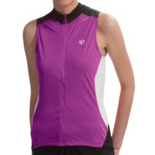 Pearl Izumi Symphony Cycling Jersey - UPF 50+, Full Zip, Sleeveless (For Women) in Orchid - Closeouts