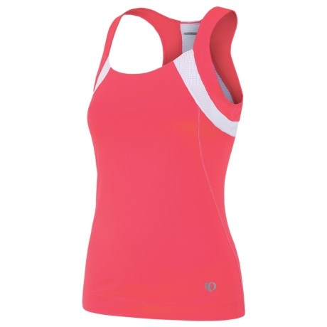 Pearl Izumi Symphony Cycling Tank Top (For Women) in Paradise Pink