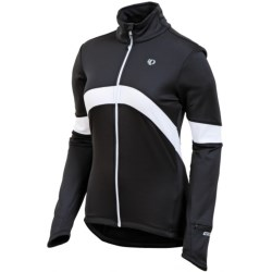 Pearl Izumi Symphony Thermal Fleece Jersey - Full Zip, Long Sleeve (For Women) in Black