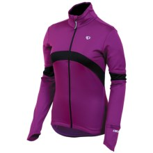 Pearl Izumi Symphony Thermal Fleece Jersey - Full Zip, Long Sleeve (For Women) in Orchid - Closeouts