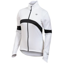 Pearl Izumi Symphony Thermal Fleece Jersey - Full Zip, Long Sleeve (For Women) in White - Closeouts