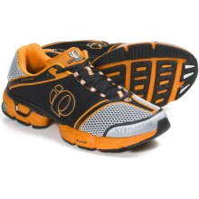 Pearl Izumi syncroFloat IV Running Shoes (For Men) in White/Safety Orange - Closeouts