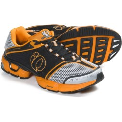 Pearl Izumi syncroFloat IV Running Shoes (For Men) in White/Safety Orange