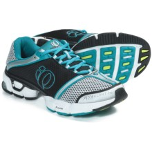 Pearl Izumi syncroFloat IV Running Shoes (For Women) in White/Peacock - Closeouts