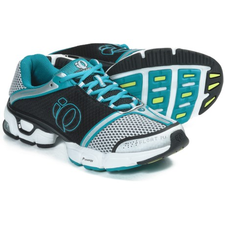Pearl Izumi syncroFloat IV Running Shoes (For Women) in White/Peacock