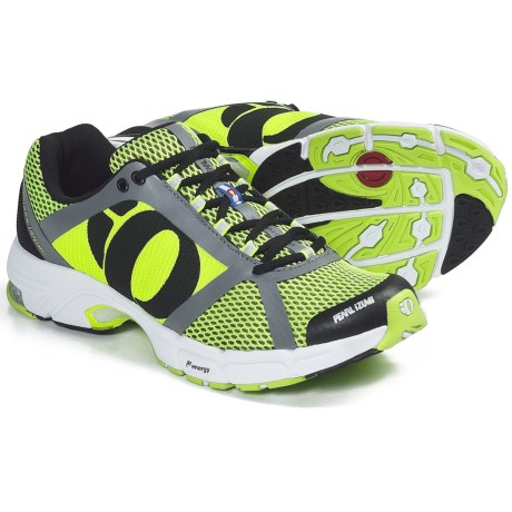 Pearl Izumi syncroFuel Rd II Running Shoes (For Men) in Black/Screaming Yellow