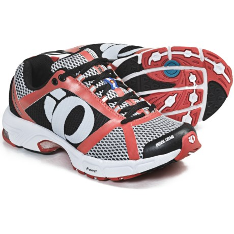 Pearl Izumi syncroFuel Rd II Running Shoes (For Women) in White/Coral
