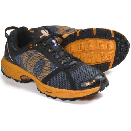 Pearl Izumi syncroFuel Trail II Trail Running Shoes (For Men) in Shadow Grey/Safety Orange