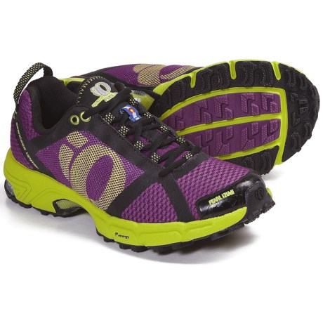 Pearl Izumi syncroFuel Trail II Trail Running Shoes (For Women) in Orchid/Lime